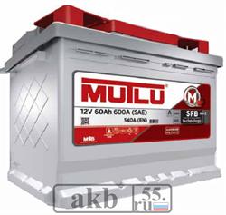 Аккумулятор 60 Mutlu SFB прямой - фото 4652