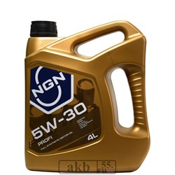 NGN Profi 5W-30 (синтетика) 4л. - фото 5127
