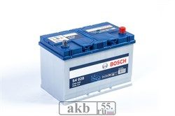 Аккумулятор  95 Bosch S4 Азия обратный (0092S40280) - фото 5408