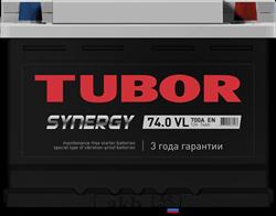 Аккумулятор 74.0 TUBOR SYNERGY обратный - фото 5633