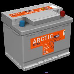 Аккумулятор 60.0 TITAN ARCTIC обратный