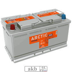 Аккумулятор 100.1 TITAN ARCTIC прямой