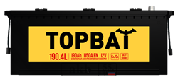 Аккумулятор 190.4 TOPBAT прямой - фото 5669
