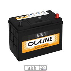 Аккумулятор 55 ALPHALINE SD 70B24L борт Азия обратный - фото 5697