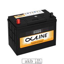 Аккумулятор 55 ALPHALINE SD70B24R борт Азия прямой - фото 5698