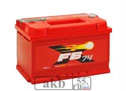 Аккумулятор 74.0 FB низкий обратный - фото 5777