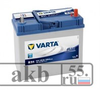 Аккумулятор 45  Varta Blue Dynamic  Азия  обратный