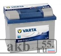 Аккумулятор 60  VartaBlue Dynamic  прямой