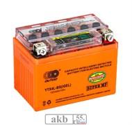 Аккумулятор 4Ah  OUTDO YTX4L-BS IGEL индикатор обр