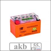 Аккумулятор 7Ah  OUTDO YTX7A-BS IGEL индикатор пр