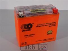 Аккумулятор 18Ah  OUTDO YT20L-4 IGEL индикатор обр