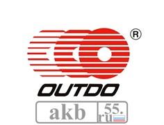 Аккумулятор 19Ah  OUTDO UTX24НL-BS IGEL индикатор обр