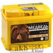 Аккумулятор Тюменский медведь 60 прямой