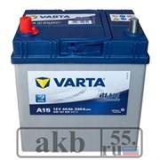 Аккумулятор 40 Varta Blue Азия пр.пол