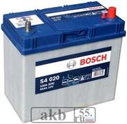 Аккумулятор Bosch 45 Азия обр.пол