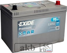 Аккумулятор 95 EXIDE  Premium Asia обр.пл
