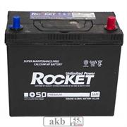Аккумулятор 55 Rocket SMF + 50 (75B24L) Азия обратный