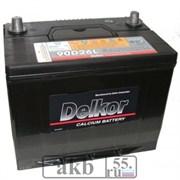 Аккумулятор 80 Delkor 90D26L обратный