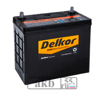 Аккумулятор 55 Delkor 70B24L (JP) обратный