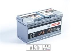 Аккумулятор 95 Bosch S5 AGM обратный (0092S5A130)