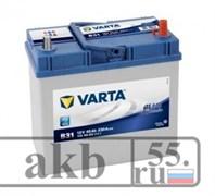 Аккумулятор 45  VartaBlue  Азия  пр.пол. 330а