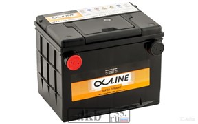 Аккумулятор 65 ALPHALINE SD75-650(D23) боковые клеммы