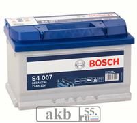 Аккумулятор 72 Bosh S4 обратный