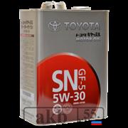 Toyota 5W30 SN/CF (синтетика) 4л.