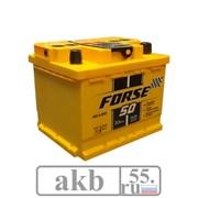 Аккумулятор 50 Forse прямой кубик