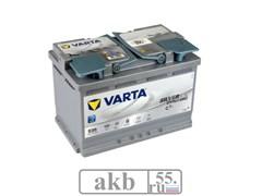 Аккумулятор 70 Германия Varta  Start-Stop Plus оп (570 901 076)