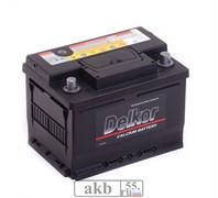 Аккумулятор 61.0 DELKOR (56177 ) обратный низкий