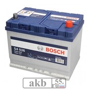 Аккумулятор 70 Bosch S4 Азия обратный (0092S40260)