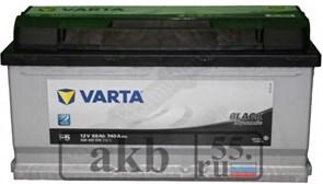 Аккумулятор 88 Varta Black низкая обратная