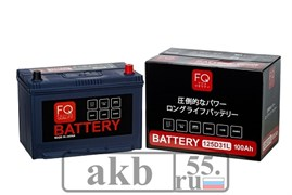 Аккумулятор 100 FQ 125D31L Азия обратный