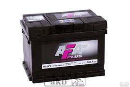 Аккумулятор 60 AFA Plus обратный низкий
