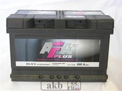 Аккумулятор 72 AFA Plus обратный низкий