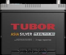 Аккумулятор 77.0 TUBOR Азия SILVER обратный