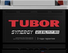 Аккумулятор 61.0 TUBOR SYNERGY обратный