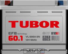 Аккумулятор 60.1 TUBOR EFB прямой