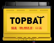 Аккумулятор 55.0 TOPBAT обратный