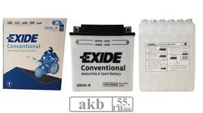 Аккумулятор Exide 30 Ah Moto 300a EB30L-B