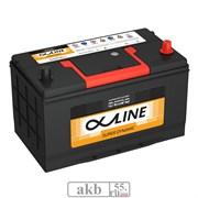 Аккумулятор 100 ALPHALINE SD 115D31L Азия обратный