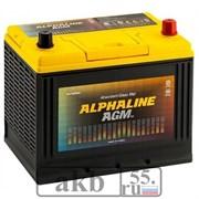Аккумулятор 75 ALPHALINE AGM AX D26L обратный