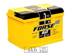 Аккумулятор 60 Forse прямой низкий