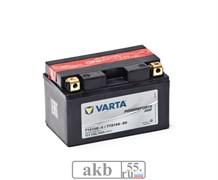 Аккумулятор 8 ah Varta PowerSport AGM 150а прямой