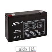 Аккумулятор 6v 12Ah Xtreme VRLA (OT 12-6)