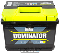 Аккумулятор 65.0 Dominator обратный