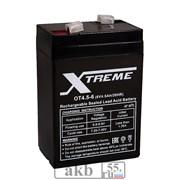 Аккумулятор 6v 4.5Ah Xtreme VRLA (OT 4.5-6)
