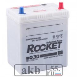 Аккумулятор 40 Rocket MF (42B19L) Азия обратный - фото 4961