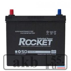 Аккумулятор 55 Rocket SMF + 50 (75B24R) Азия прямая - фото 5047